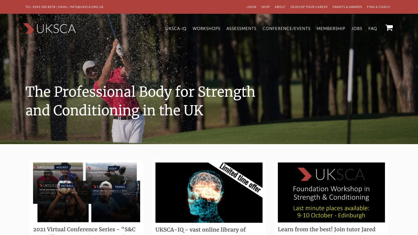 UK Strength and Conditioning Association